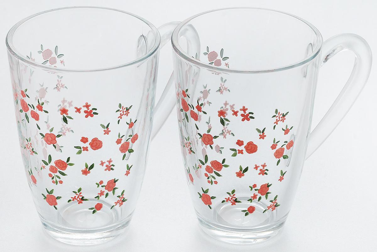 Набор кружек Pasabahce Provence, 325 мл, 2 штFS-91909Набор Pasabahce Provence состоит из двух кружек с удобными ручками, выполненных из прочного натрий-кальций-силикатного стекла. Кружки декорированы ярким изображением цветов. Изделия хорошо удерживают тепло, не нагреваются. На них не выгорает и не вымывается рисунок. Набор кружек Pasabahce прекрасно оформит праздничный стол и создаст приятную атмосферу за ужином. Такой набор также станет хорошим подарком к любому случаю.Можно мыть в посудомоечной машине.