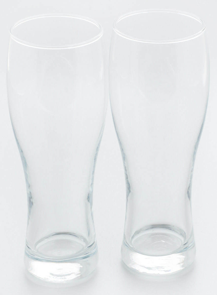 Набор стаканов для пива Pasabahce Pub, 500 мл, 2 штVT-1520(SR)Набор Pasabahce Pub состоит из двух стаканов, выполненных из прочного натрий-кальций-силикатного стекла. Стаканы, оснащенные утолщенным дном, предназначены для подачи пива. Такой набор прекрасно подойдет для любителей пенного напитка.Можно мыть в посудомоечной машине и использовать в микроволновой печи.Высота стакана: 21,5 см.Диаметр стакана (по верхнему краю): 6,5 см.