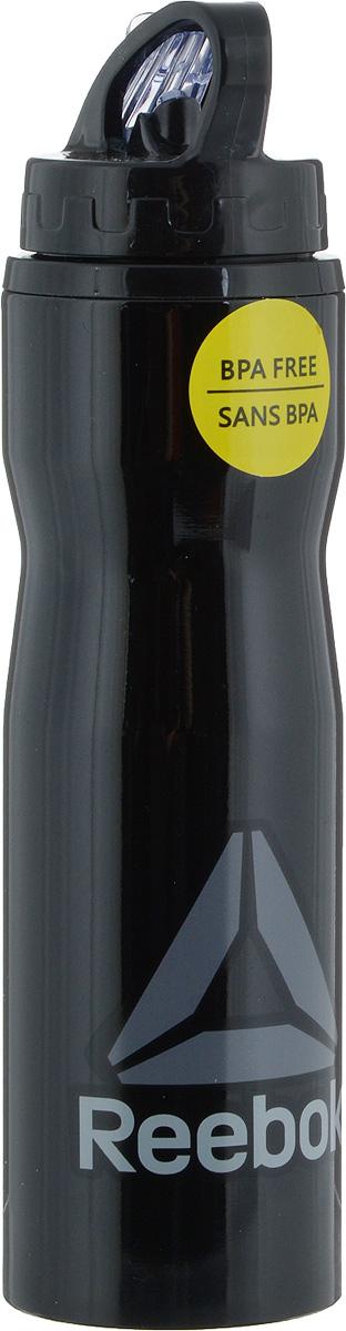Бутылка для воды Reebok Os U Waterbot Metal, 500 млBP8844Стильная бутылка для воды Reebok Os U Waterbot Metal прекрасно подойдет для использования во время тренировки или жаркую погоду. Корпус изготовлен из стали высокой прочности. Бутылка оснащена пластиковой крышкой с выдвигающейся трубкой, которая позволяет легко пить на ходу. Широкое отверстие позволяет удобно наливать жидкость и добавлять лед. Ручка для переноске делает эту бутылку еще более практичным аксессуаром. Употребление достаточного количества жидкости - важная часть спортивного режима. Благодаря эргономичной форме эту бутылку удобно носить в руках.Диаметр горлышка: 5 см. Диаметр дна: 6,8 см. Высота бутылки (без учета крышки): 22,8 см. Высота бутылки (с учетом крышки): 26 см.
