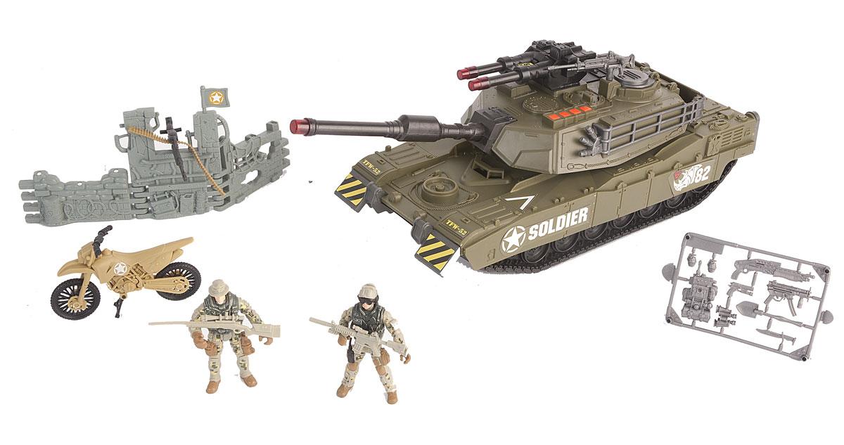 Chap Mei Игровой набор Танковый прорыв