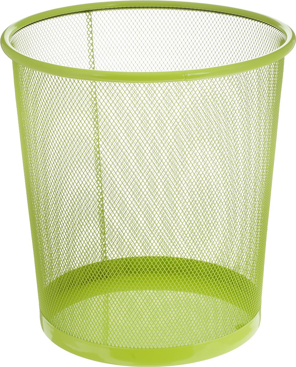 Корзина для мусора Zeller, цвет: салатовый, 26 х 26 х 27,8 см97526Оригинальная корзина для мусора Zeller изготовлена из высококачественного металла. Такое изделие идеально подходит для использования как дома, так и в офисе. Корзина имеет сплошное дно, а стенки изделия оформлены перфорацией в виде сетки.Стильный дизайн и яркая расцветка прекрасно подойдут для любого интерьера. Диаметр (по верхнему краю): 26 см.Высота: 27,8 см.