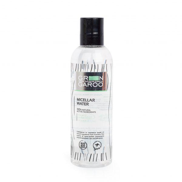 GreenGaroo, Мицеллярная вода 200млFS-00897Мицеллярная очищающая вода для деликатного и эффективного очищения. Розовая вода и экстракт о лаванды придают ощущение свежести и восстанавливают уровень увлажненности кожи.
