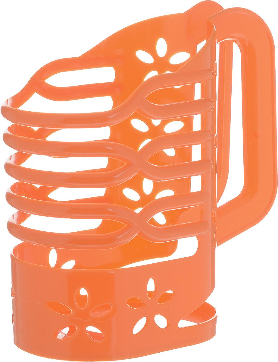 Держатель для молока Альтернатива, цвет: оранжевый, 1 лM1667_оранжевыйДержатель для молока Альтернатива изготовлен из высококачественного прочного пластика. Изделие предназначено для хранения пакета с молоком, кефиром и другими напитками. Держатель способен подстраиваться под размер пакета и снабжен удобной ручкой. Держатель для молока Альтернатива станет незаменимым аксессуаром на любой современной кухне.Предназначен для молочных пакетов объемом: 1 л.