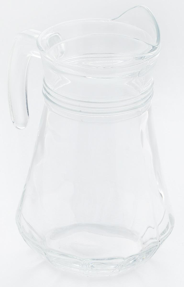 Кувшин Pasabahce Casablanca, 1,14 лVT-1520(SR)Кувшин Pasabahce Casablanca, выполненный из прочного стекла, элегантно украсит ваш стол. Кувшин прекрасно подойдет для подачи воды, сока, компота и других напитков. Изделие оснащено ручкой и специальным носиком для удобного выливания жидкости. Совершенные формы и изящный дизайн, несомненно, придутся по душе любителям классического стиля. Кувшин Pasabahce Casablanca дополнит интерьер вашей кухни и станет замечательным подарком к любому празднику.Можно мыть в посудомоечной машине.Диаметр кувшина по верхнему краю (без учета носика): 9 см.Высота кувшина: 22 см.