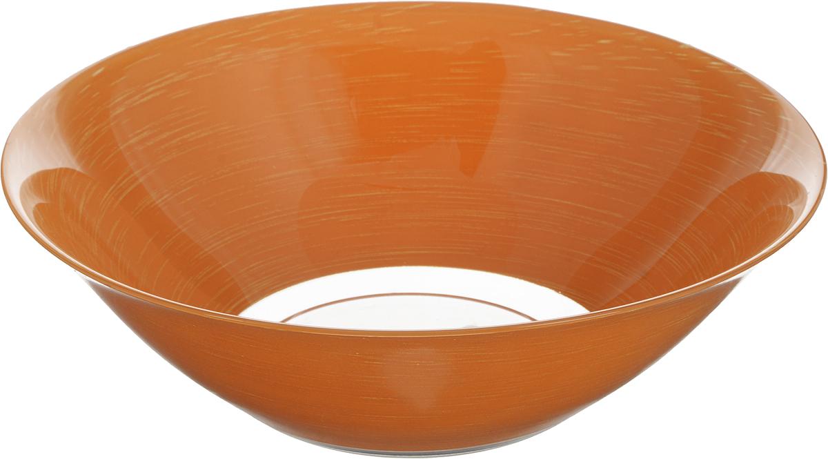 Салатник Luminarc Stonemania Orange, диаметр 27 см54 009312Салатник Luminarc Stonemania Orange выполнен из ударопрочного стекла. Изделие сочетает в себеизысканный дизайн с максимальной функциональностью. Он прекрасно впишется в интерьервашей кухни и станет достойным дополнением к кухонному инвентарю. Салатник не только украсит ваш кухонный стол и подчеркнет прекрасный вкус хозяйки, но истанет отличным подарком.Диаметр салатника (по верхнему краю): 27 см.Высота салатника: 8,5 см.