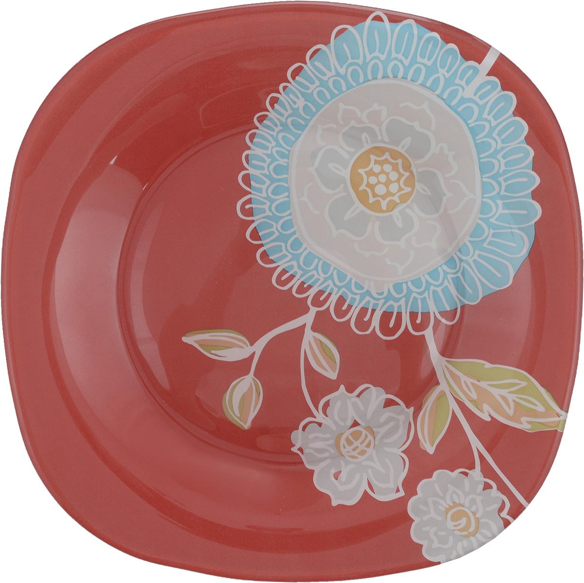 Тарелка десертная Luminarc Silene Glass, 18 х 18 смJ7829Десертная тарелка Luminarc Silene Glass, изготовленная из высококачественного стекла, имеет изысканный внешний вид. Такая тарелка прекрасно подходит как для торжественных случаев, так и для повседневного использования. Идеальна для подачи десертов, пирожных, тортов и многого другого. Она прекрасно оформит стол и станет отличным дополнением к вашей коллекции кухонной посуды.Размер тарелки: 18 х 18 см.Высота тарелки: 1,5 см.