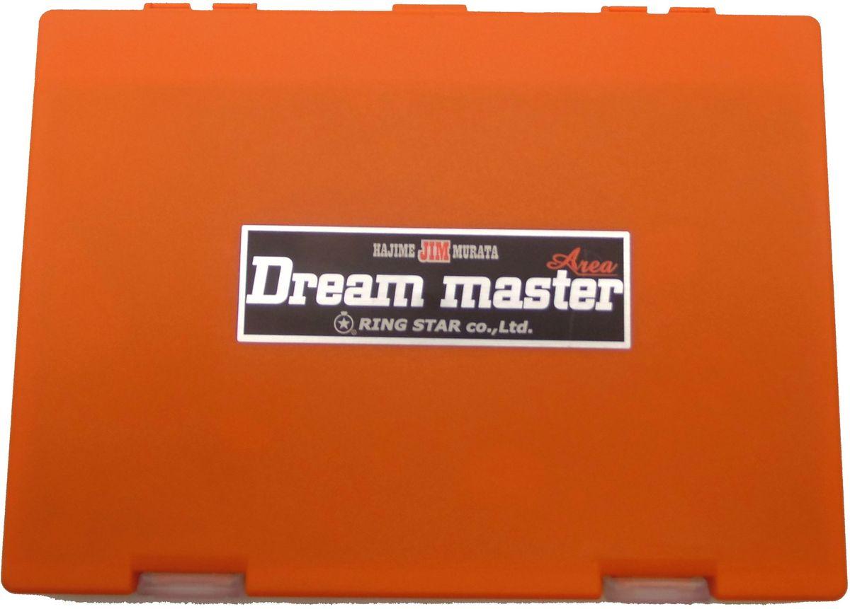Коробка для микроблесен Ring Star Dream Master Area, цвет: оранжевый, 19,8 х 14,9 х 2 см4271825Пластиковые коробки для микроблесен Dream Master Area от японского производителя Ring Star отлично подходят для хранения микровертушек и микроколебалок. Высокая надежность и отличное японское качество в совокупности с максимальным удобством будут по достоинству оценены как начинающими рыбаками, так и профессиональными спортсменами. Ударопрочный пластик позволяет сохранить содержимое коробки в целости при перевозках. Внутри коробок предусмотрены системы крепления для приманок на подвижных полимерных лентах на липучках. В комплекте к каждой коробке предусмотрено 4 ленты. В случае необходимости запасные ленты можно приобрести отдельно. Размеры коробки 198х149х20мм позволяют разместить до 100 блесен. Коробка оснащена пластиковым разделителем для предотвращения спутывания приманок. Замки коробки имеют сменную конструкцию и достаточно легко открываются и закрываются. Ключевыми свойствами коробок Dream Master Area являются долговечность и превосходная надежность, доказанная длительными испытаниями профессиональных спортсменов по всему миру.