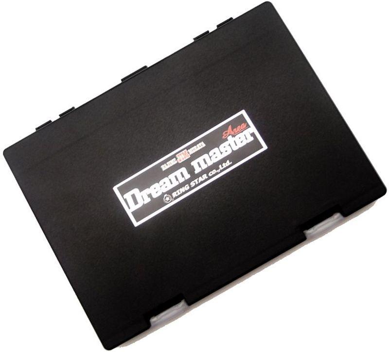 Коробка для микроблесен Ring Star Dream Master Area, цвет: черный, 19,8 х 14,9 х 2 см10936Пластиковые коробки для микроблесен Dream Master Area от японского производителя Ring Star отлично подходят для хранения микровертушек и микроколебалок. Высокая надежность и отличное японское качество в совокупности с максимальным удобством будут по достоинству оценены как начинающими рыбаками, так и профессиональными спортсменами. Ударопрочный пластик позволяет сохранить содержимое коробки в целости при перевозках. Внутри коробок предусмотрены системы крепления для приманок на подвижных полимерных лентах на липучках. В комплекте к каждой коробке предусмотрено 4 ленты. В случае необходимости запасные ленты можно приобрести отдельно. Размеры коробки 198х149х20мм позволяют разместить до 100 блесен. Коробка оснащена пластиковым разделителем для предотвращения спутывания приманок. Замки коробки имеют сменную конструкцию и достаточно легко открываются и закрываются. Ключевыми свойствами коробок Dream Master Area являются долговечность и превосходная надежность, доказанная длительными испытаниями профессиональных спортсменов по всему миру.