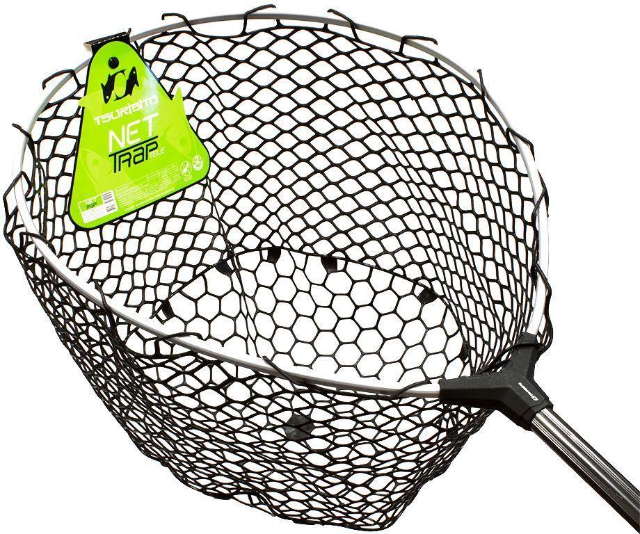 Подсачек Tsuribito Net Trap Tele, c силиконовой сеткой, телескопический, 140-250 х 46 х 46 см810Универсальный подсак с силиконовой сеткой. Применяется для вытаскивания рыбы без повреждения снастей и самого улова. Подсак отлично справляется с большими нагрузками благодаря наличию ручки из высокопрочного материала. При переноске подсак очень удобен, занимает мало места. Сочетает в себе комфорт и удобство для максимально эффективных результатов рыбной ловли.