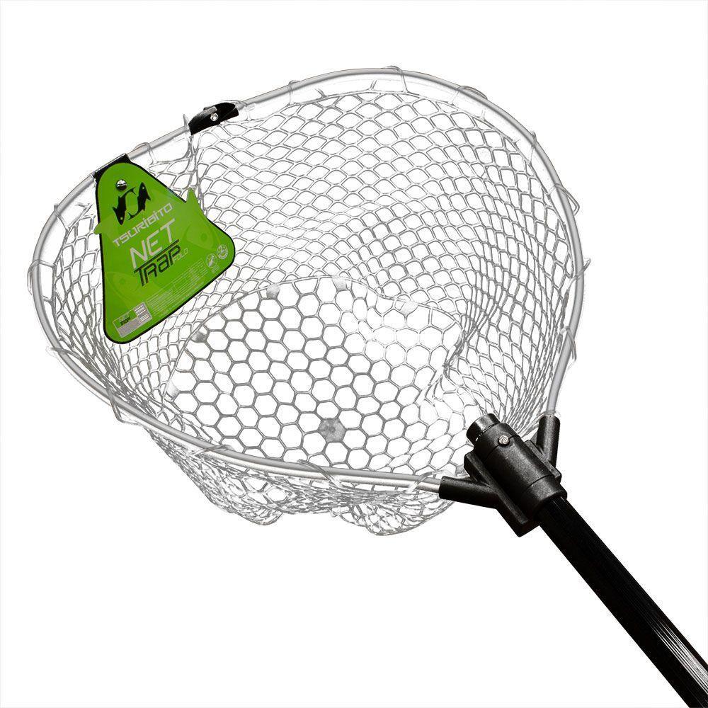 Подсачек Tsuribito Net Trap Fold, с силиконовой сеткой, складной, 200 х 46 х 46 смMXS BlackУниверсальный подсак с силиконовой сеткой. Применяется для вытаскивания рыбы без повреждения снастей и самого улова. Подсак отлично справляется с большими нагрузками благодаря наличию ручки из высокопрочного материала. При переноске подсак очень удобен, занимает мало места. Сочетает в себе комфорт и удобство для максимально эффективных результатов рыбной ловли.