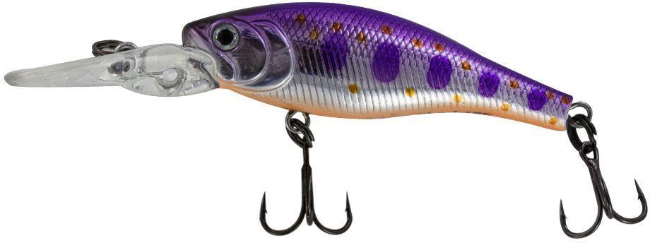 Воблер Yoshi Onyx Frisky Shad-38 F-MR, цвет: 582 (сиреневый)PGPS7797CIS08GBNVЕще один малыш от Yoshi Onyx - Frisky Shad 38F. Неглубокие, прогреваемые прибрежные зоны во второй половине лета становятся прибежищем рыбьей молоди. Frisky Shad 38F вполне впишется в эту компанию. Различные способы анимации заставят Frisky Shad 38F имитировать растерявшегося хаотически суетящегося малька,и внимательный хищник не упустит своего шанса.