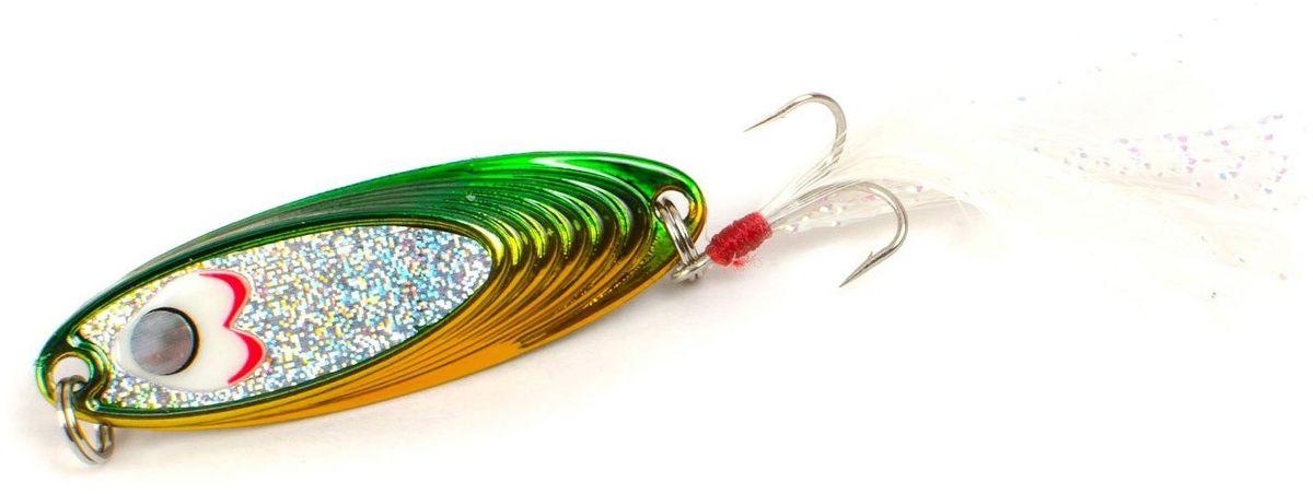 Блесна Yoshi Onyx Yalu Must, цвет: желтый, зеленый, 5 гPGPS7797CIS08GBNVБлесна Yoshi Onyx Yalu Must - уникальная, изготовленная с ювелирной точностью, выделяющаяся тщательно рассчитанным и скрупулезно проверенным, сложным, многогранным профилем, приманка для ловли рыбы. Устойчивые колебания без остановок и свалов и отменные баллистические характеристики приманки позволяют облавливать как обширные водные акватории, так и быстро текущие потоки.