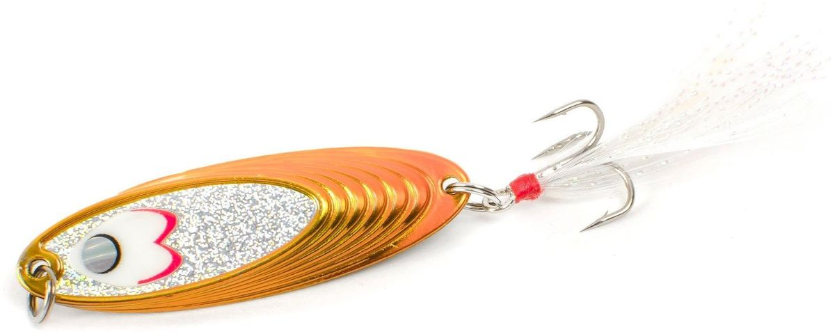 Блесна Yoshi Onyx Yalu Must, цвет: медный, 10 г95661Блесна Yoshi Onyx Yalu Must - уникальная, изготовленная с ювелирной точностью, выделяющаяся тщательно рассчитанным и скрупулезно проверенным, сложным, многогранным профилем, приманка для ловли рыбы. Устойчивые колебания без остановок и свалов и отменные баллистические характеристики приманки позволяют облавливать как обширные водные акватории, так и быстро текущие потоки.