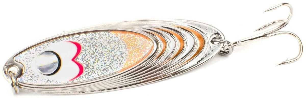 Блесна Yoshi Onyx Yalu Must, цвет: белый, оранжевый, 15 г95665Блесна Yoshi Onyx Yalu Must - уникальная, изготовленная с ювелирной точностью, выделяющаяся тщательно рассчитанным и скрупулезно проверенным, сложным, многогранным профилем, приманка для ловли рыбы. Устойчивые колебания без остановок и свалов и отменные баллистические характеристики приманки позволяют облавливать как обширные водные акватории, так и быстро текущие потоки.