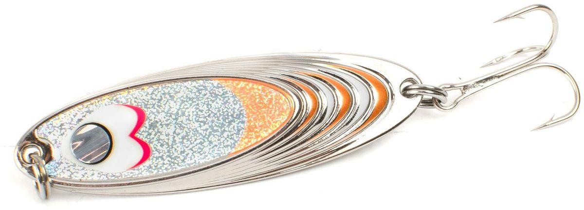 Блесна Yoshi Onyx Yalu Must, цвет: белый, оранжевый, 21 г95670Блесна Yoshi Onyx Yalu Must - уникальная, изготовленная с ювелирной точностью, выделяющаяся тщательно рассчитанным и скрупулезно проверенным, сложным, многогранным профилем, приманка для ловли рыбы. Устойчивые колебания без остановок и свалов и отменные баллистические характеристики приманки позволяют облавливать как обширные водные акватории, так и быстро текущие потоки.