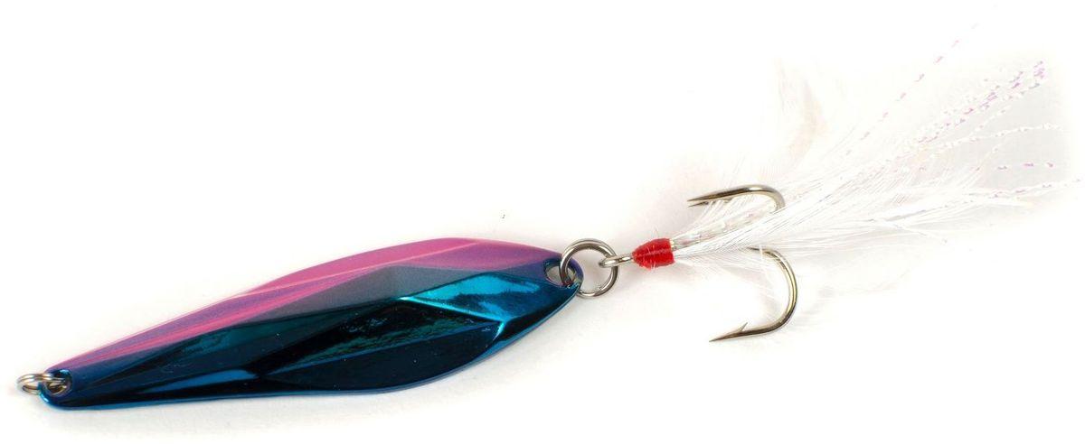 Блесна Yoshi Onyx Yalu Gem, 15 г, цвет: 4 (сине-розовый)95708Блесна Yoshi Onyx Yalu Gem - это незаурядная блесна со сложной геометрией. Gem от Yoshi Onyx - компактный, тяжёлый и невероятно дальнобойный, летит как пуля. Идеальное соотношение веса и площади Gem, наряду с аккуратно выверенным центром тяжести, допускает осуществлять, результативные проводки, в самом широком диапазоне скоростей и глубин. Тщательно рассчитанные грани и смещённый центр тяжести блесны, позволяют эффективно облавливать не только удалённые уголки водоёма, но и результативно работать в придонных слоях глубоких ям.