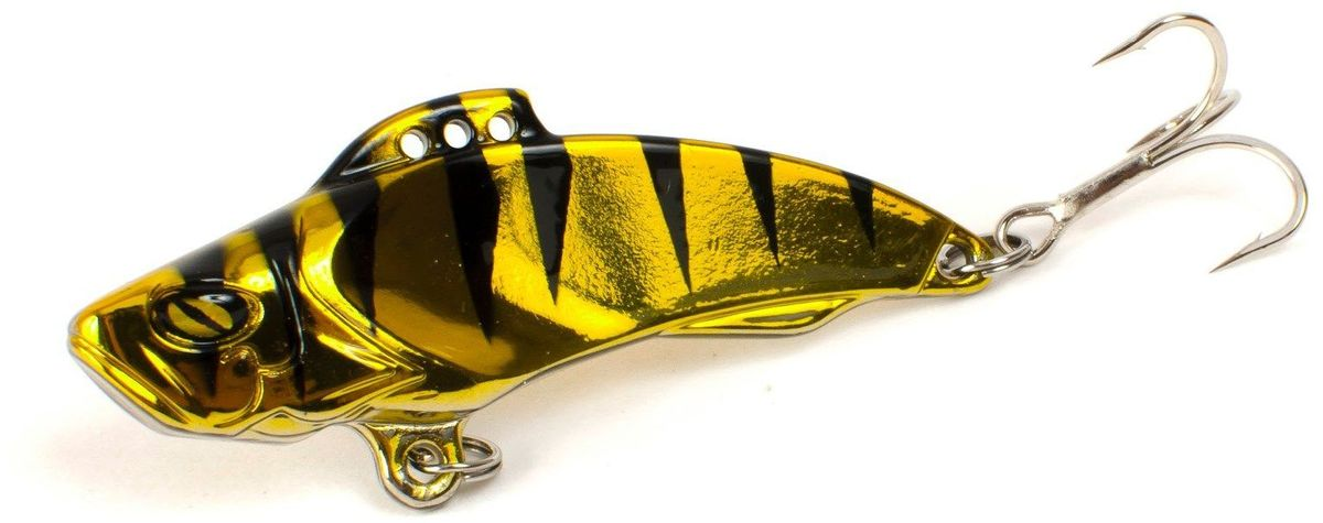 Блесна Yoshi Onyx Yalu Vib, цвет: золотой, черный, 21 г95774Блесна Yoshi Onyx Yalu Vib - это идеальный выбор для ловли практически всех видов рыб в различныхусловиях и на любых водоемах и впечатляет своими формами. Чуткая к любым вариантам анимации и замечателен не только на вертикальных проводках при ловле из подо льда, но и удивительно хороша на длинных равномерных прогонах по открытой воде.