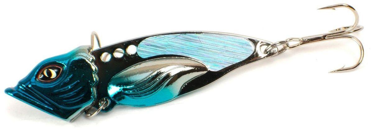 Блесна Yoshi Onyx Yalu Vib Up, 21 г, цвет: 5 (голубой)95789Блесна Yoshi Onyx Yalu Vib up – приманка, с характерной, смещённой вперёд развесовкой, отлично выдерживает рваный темп рывковых проводок, имитируя беззаботно копошащуюся у дна рыбку. Тщательно рассчитанный баланс приманки позволяет эффективно облавливать участки водоёмы с ярко выраженным рельефом.