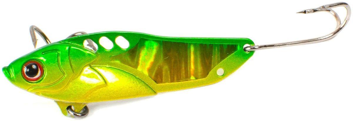Блесна Yoshi Onyx Yalu Check, цвет: желтый, зеленый, 5 г95796Блесна Yoshi Onyx Yalu Check исполнена в оригинальных цветовых сочетаниях, что является идеальным выбором для ловли практически всех видов рыб в различныхусловиях и на любых водоемах. Интенсивные колебания отличаются исключительной стабильностью на любых скоростях проводки. Мягкое движение удилищем и приманка, трепетно жужжа, деловито пускается в свое путешествие, издалека привлекая внимание вышедшего на охоту хищника. Приманка отлично подойдет для ловли в мутной воде.