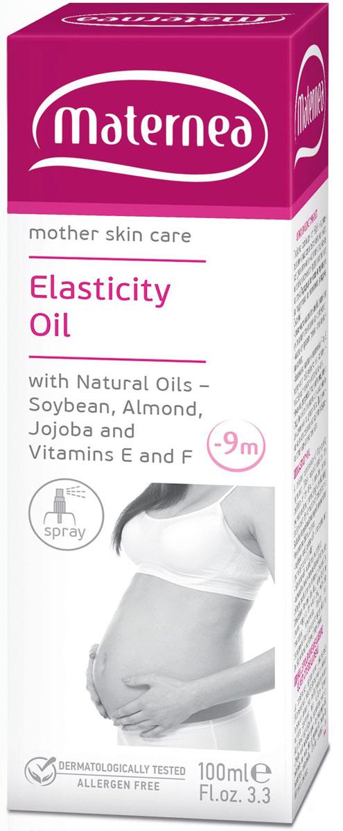 Maternea Масло-спрей для упругости кожи Elasticity Oil 100 млAC-2233_серыйМасло для упругости кожи Maternea специально создано для нуждающейся в заботе кожи в период беременности, когда все тело подвержено большим испытаниям не только по причине экстремального растяжения и сокращения, но и из-за увеличившегося уровня гормонов, что в свою очередь влияет на нормальные процессы регенерации. Из-за своего комплексного действия масло является обязательной частью заботы о чувствительной коже в этот период, отлично питает, увлажняет ее, смягчая и успокаивая.Масло для упругости Maternea гипоаллергенно, прошло дерматологические испытания, с натуральным масляным ароматом, без добавления отдушек, специально создано для беременных и кормящих матерей, гарантированно безопасно для матери и младенца.Товар сертифицирован.