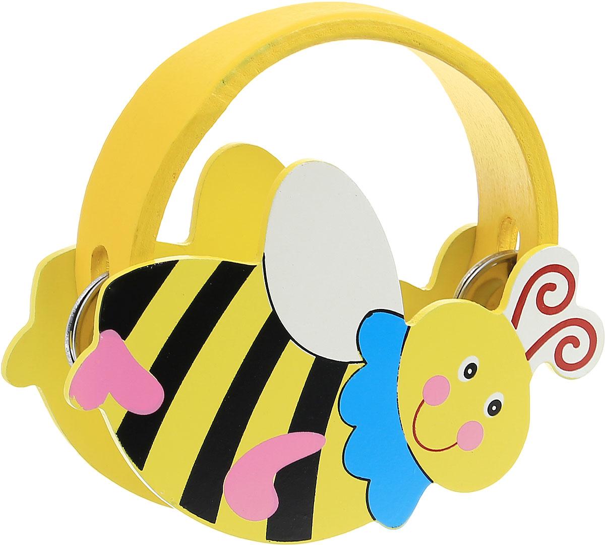 Мир деревянных игрушек Бубен Пчела