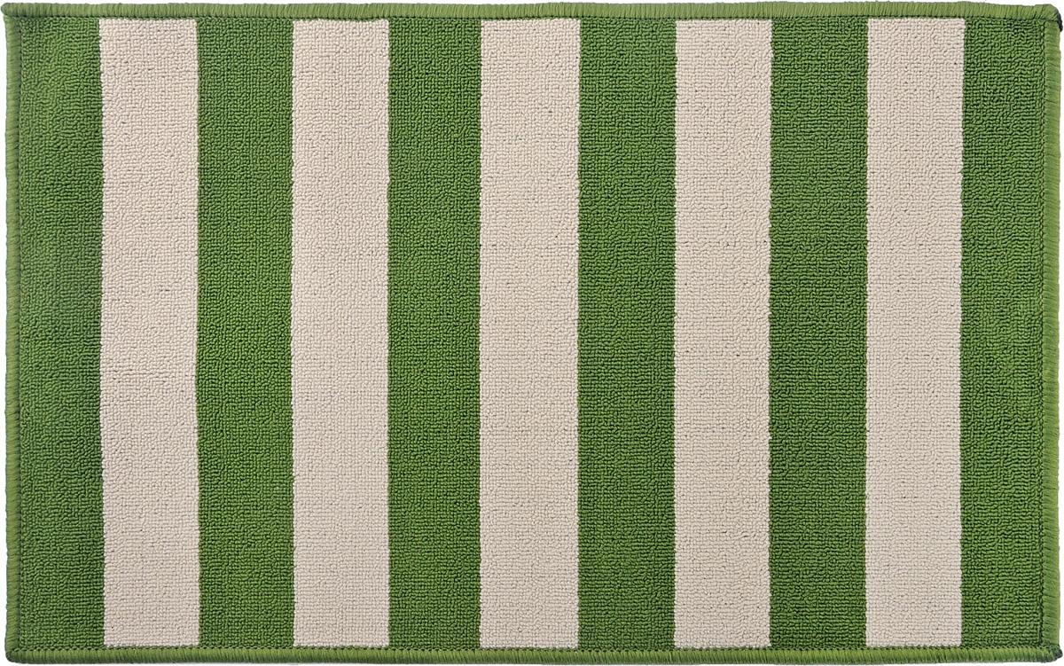 Коврик Vortex Dublin, цвет: зеленый, бежевый, 50 х 80 см41619Ворс коврика Vortex изготовлен из 100% полипропилена. Коврик оснащен выполненной из латекса подложкой, которая препятствует скольжению. Коврик Vortex гармонично впишется в интерьер вашего дома и создаст атмосферу уюта и комфорта. Изделие отлично подойдет как для использования в доме, так и снаружи.