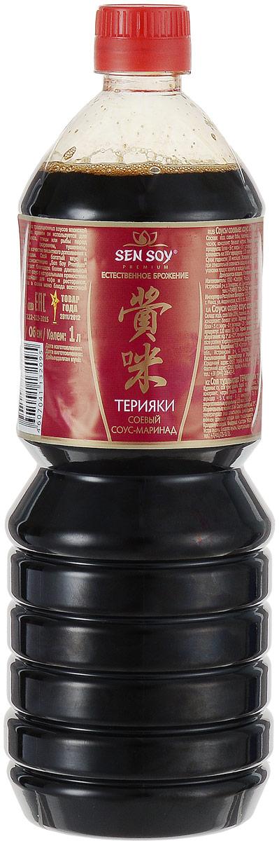 Sen Soy Соевый соус Терияки, 1л4607041132095ерияки – один из традиционных соусов японской кухни. С давних времен он используется для маринования мяса, птицы или рыбы перед приготовлением (жарением, тушением, запеканием) и в качестве пикантного дополнения к готовым блюдам. Свой богатый вкус и насыщенную консистенцию Сэн Сой Премиум Терияки обретает благодаря более длительной выдержке. Этот соус с натуральными пряностями особенно подойдет для кафе и ресторанов, предлагающих в своем меню суши и другие блюда восточной кухни. Полиэтиленовая бутылка объемом в 1 литр очень удобна в транспортировке, хранении и использовании и конечно выгодна по цене для кафе, ресторанов, точек быстрого питания.