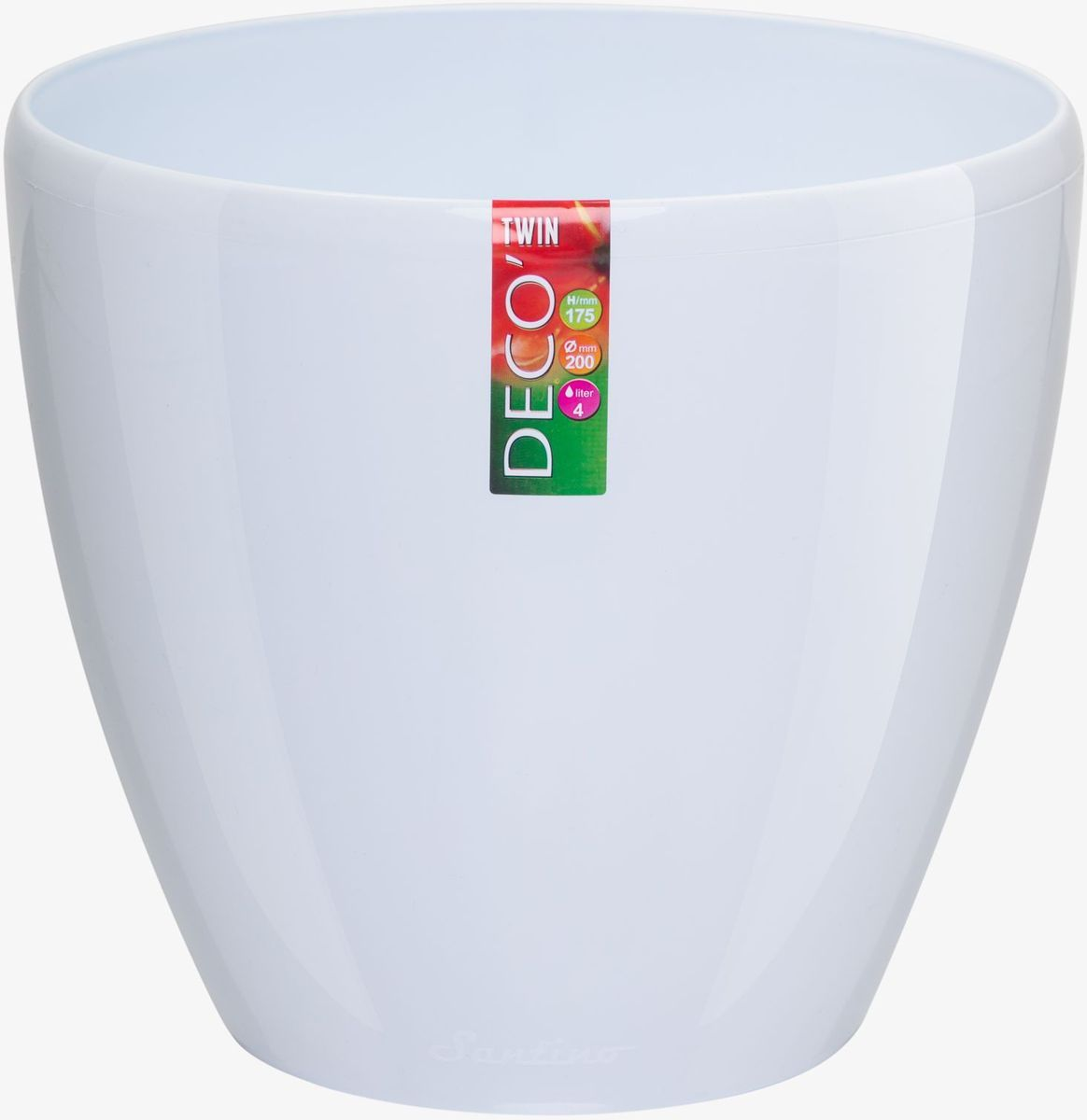 Горшок цветочный Santino Deco Twin, двойной, с системой автополива, цвет: прозрачный, 4 лДЕК 4 ПРГоршок цветочный Santino Deco Twin снабжен дренажной системой и состоит из кашпо и вазона-вкладыша. Изготовлен из пластика. Особенность: тарелочка или блюдце не нужны. Горшок предназначен для любых растений или цветов. Цветочный дренаж – это система, которая позволяет выводить лишнюю влагу через корневую систему цветка и слой почвы. Растение – это живой организм, следовательно, ему необходимо дышать. В доступе к кислороду нуждаются все части растения: -листья; -корневая система. Если цветовод по какой-либо причине зальет цветок водой, то она буквально вытеснит из почвенного слоя все пузырьки кислорода. Анаэробная среда способствует развитию различного рода бактерий. Безвоздушная среда приводит к загниванию корневой системы, цветок в результате увядает. Суть работы дренажной системы заключается в том, чтобы осуществлять отвод лишней влаги от растения и давать возможность корневой системе дышать без проблем. Следовательно, каждому цветку необходимо: -иметь в основании цветочного горшочка хотя бы одно небольшое дренажное отверстие. Оно необходимо для того, чтобы через него выходила лишняя вода, плюс ко всему это отверстие дает возможность циркулировать воздух. -на самом дне горшка необходимо выложить слоем в 2-5 см (зависит от вида растения) дренаж.УВАЖАЕМЫЕ КЛИЕНТЫ!Обращаем ваше внимание на тот факт, что фото изделия служит для визуального восприятия товара. Литраж и размеры, представленные на этикетке товара, могут по факту отличаться от реальных. Корректные данные в поле Размеры.