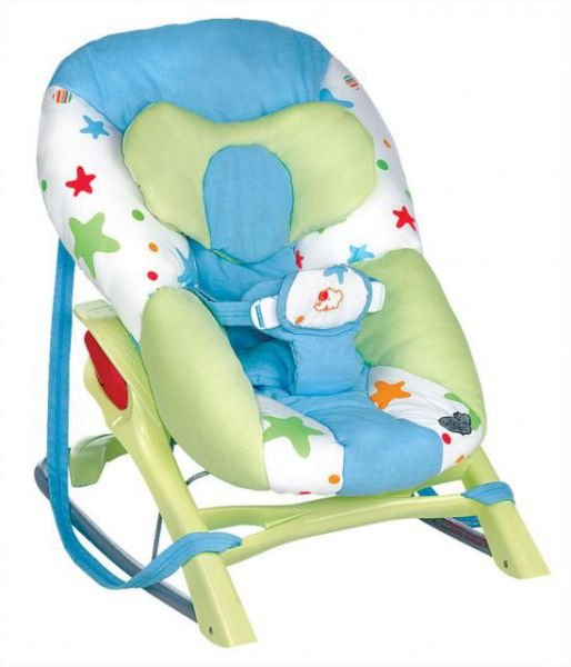 Bebe Confort Кресло-качалка Cocon Evolution цвет голубой зеленый - Качели и шезлонги