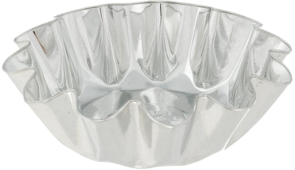 Форма для выпечки Кварц, диаметр 11,1 смFS-91909Форма Кварц, выполненная из белой жести, предназначена для выпечки и приготовления желе. Стенки изделия рельефные.С формой Кварц вы всегда сможете порадовать своих близких оригинальной выпечкой.Диаметр формы (по верхнему краю): 11,1 см.Высота формы: 3,6 см.