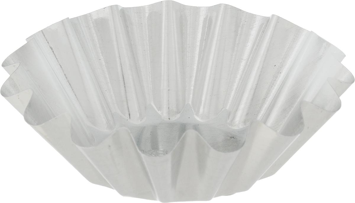 Форма для выпечки Кварц, диаметр 9,5 см402-561Форма Кварц, выполненная из белой жести, предназначена для выпечки и приготовления желе. Стенки изделия рельефные.С формой Кварц вы всегда сможете порадовать своих близких оригинальной выпечкой.Диаметр формы (по верхнему краю): 9,5 см.Высота формы: 3,2 см.