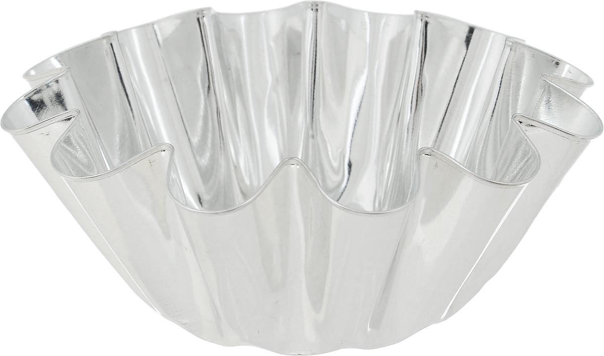 Форма для выпечки Кварц, диаметр 13 см391602Форма Кварц, выполненная из высококачественной жести, предназначена для выпечки и приготовления желе. Стенки изделия рельефные.С формой Кварц вы всегда сможете порадовать своих близких оригинальной выпечкой.Диаметр формы (по верхнему краю): 13 см.Высота формы: 4,5 см.