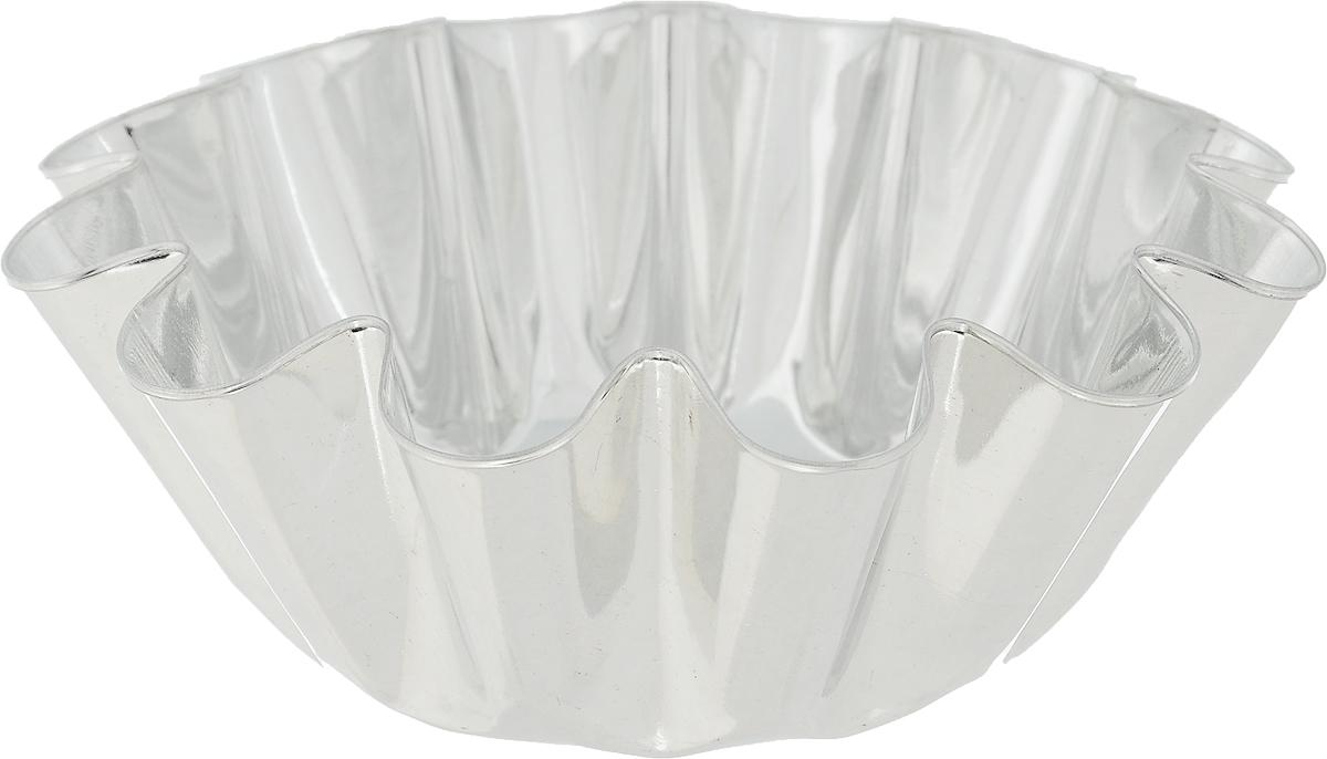 Форма для выпечки Кварц, диаметр 12,2 см391602Форма Кварц, выполненная из белой жести, предназначена для выпечки и приготовления желе. Стенки изделия рельефные.С формой Кварц вы всегда сможете порадовать своих близких оригинальной выпечкой.Диаметр формы (по верхнему краю): 12,2 см.Высота формы: 4,6 см.