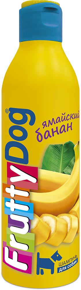 Шампунь для собак АВЗ FruttyDog. Ямайский банан, 250 мл0120710Шампунь для собак с ярким ароматом банана, подходит ля частого применения