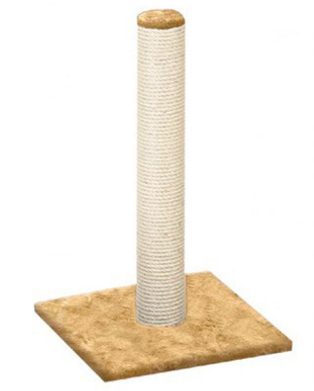 Когтеточка Столбик, джут, цвет: бежевый, 41 х 100 х 41 см0120710Всем кошкам необходимо стачивать когти. Когтеточка - один из самых необходимых аксессуаров для кошки, который также может стать любимым местом для игр вашего любимца.Для приучения к когтеточке можно натереть ее сухой валерьянкой или кошачьей мятой.Когтеточка поможет вашему питомцу стачивать когти и при этом не портить вашу мебель. Характеристики:Размер: 41 х 100 х 41 см.Диаметр столбика: 7 см.Материал: ДСП, джут, ковролин (искусственный мех).Производитель: Россия. Уважаемые клиенты!Товар поставляется в цветовом ассортименте. Отгрузка производится из имеющихся в наличии цветов.
