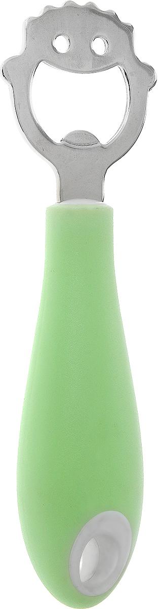 Открывалка для бутылок Tescoma Quido, длина 14 см201041Открывалка Tescoma Quido необходима для удобного открывания бутылок с кроненпробкой. Изготовлена из первоклассной нержавеющей стали и прочной пластмассы. Ручка приспособлена для подвешивания на крючок. Открывалка для бутылок Tescoma Quido станет прекрасным дополнением к кухонной утвари.Можно мыть в посудомоечной машине.Длина открывалки: 14 см.Размер рабочей части: 4 х 4,5 см.