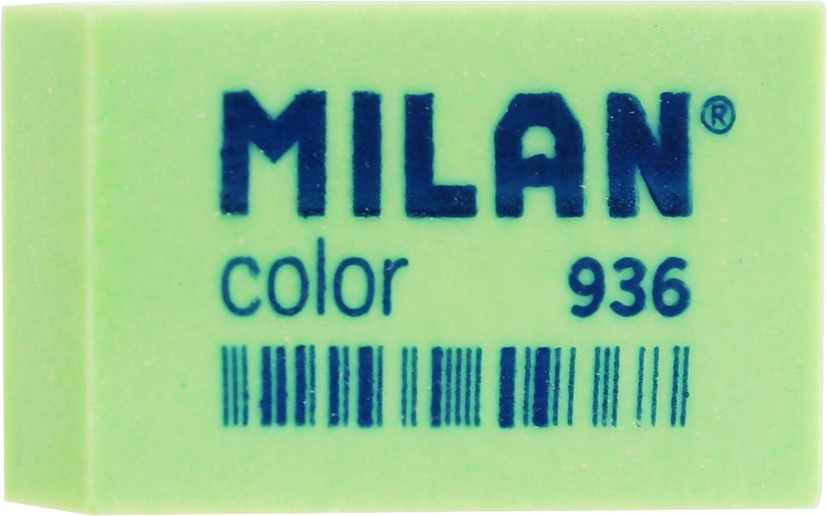 Milan Ластик Color 936 прямоугольный цвет зеленый227867Ластик Milan Color 936 предназначен для графитовых карандашей и перманентных чернил из цветного пластика.Наиболее эффективный для точного и аккуратного удаления контуров и штрихов, сделанных твердыми карандашами.