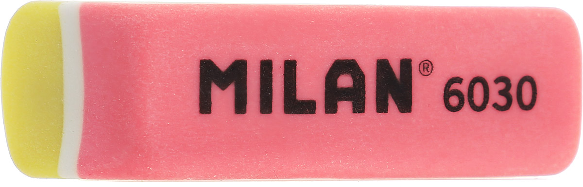Milan Ластик 6030 скошенный цвет желтый коралловый582425Ластик Milan 6030 - это поликомпонентный синтетический ластик. Великолепная структура, яркий дизайн.