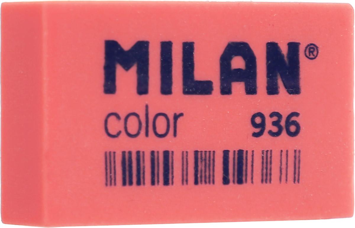 Milan Ластик Color 936 прямоугольный цвет коралловый227867Ластик Milan Color 936 предназначен для удаления графитных и цветных карандашей любой твердости.Наиболее эффективный для точного и аккуратного удаления контуров и штрихов.
