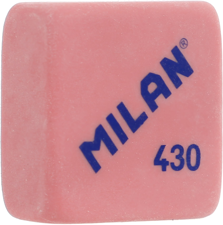 Milan Ластик 430 цвет красныйPMM4045Качественный мягкий ластик Milan предназначен для работы с мягкими карандашами. Имеет классическую квадратную форму.