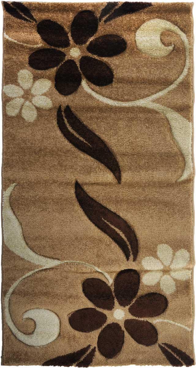 Ковер Mutas Carpet Карма, 80 х 150 см. 1320KA20120905094614531-105Ковер Mutas Carpet, изготовленный из высококачественного материала, прекрасно подойдет для любого интерьера. За счет прочного ворса ковер легко чистить. При надлежащем уходе синтетический ковер прослужит долго, не утратив ни яркости узора, ни блеска ворса, ни упругости. Самый простой способ избавить изделие от грязи - пропылесосить его с обеих сторон (лицевой и изнаночной). Влажная уборка с применением шампуней и моющих средств не противопоказана. Хранить рекомендуется в свернутом рулоном виде.
