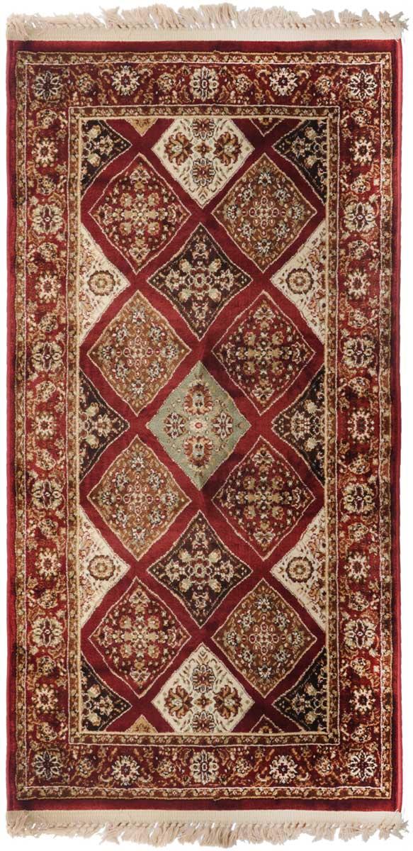 Ковер Mutas Carpet Силк, 80 х 150 см. 20342013021217617574-0120Ковер Mutas Carpet, изготовленный из высококачественного материала, прекрасно подойдет для любого интерьера. За счет прочного ворса ковер легко чистить. При надлежащем уходе синтетический ковер прослужит долго, не утратив ни яркости узора, ни блеска ворса, ни упругости. Самый простой способ избавить изделие от грязи - пропылесосить его с обеих сторон (лицевой и изнаночной). Влажная уборка с применением шампуней и моющих средств не противопоказана. Хранить рекомендуется в свернутом рулоном виде.