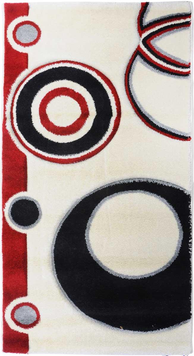 Ковер Mutas Carpet Супер Панда, 80 х 150 см. 203420130212184156FS-91909Ковер Mutas Carpet, изготовленный из высококачественного материала, прекрасно подойдет для любого интерьера. За счет прочного ворса ковер легко чистить. При надлежащем уходе синтетический ковер прослужит долго, не утратив ни яркости узора, ни блеска ворса, ни упругости. Самый простой способ избавить изделие от грязи - пропылесосить его с обеих сторон (лицевой и изнаночной). Влажная уборка с применением шампуней и моющих средств не противопоказана. Хранить рекомендуется в свернутом рулоном виде.