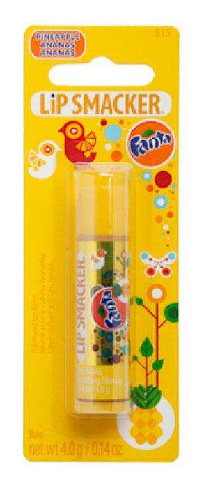 Lip Smacker Бальзам для губ Fanta ананасовый28032022Lip Smacker – это оригинальные блески и бальзамы для губ с самыми разнообразными ароматами. Прекрасно смягчают и увлажняют губы, придавая им сияние.