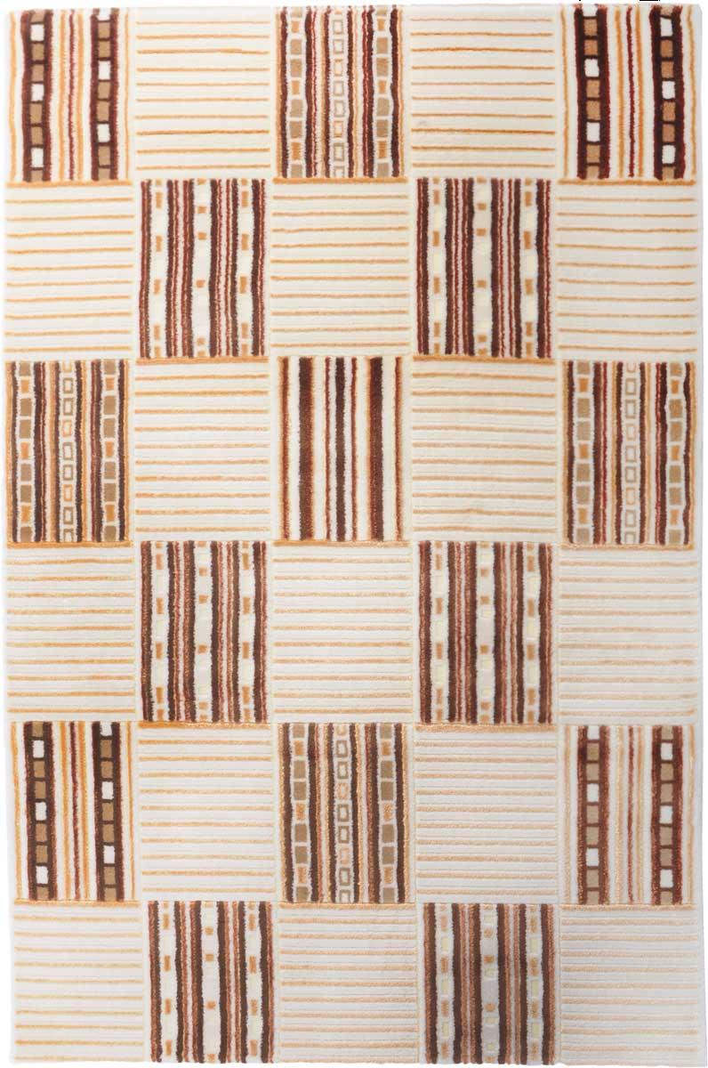 Ковер Mutas Carpet Маре, 120 х 170 см. 705013U210DFКовер Mutas Carpet, изготовленный из высококачественного материала, прекрасно подойдет для любого интерьера. За счет прочного ворса ковер легко чистить. При надлежащем уходе синтетический ковер прослужит долго, не утратив ни яркости узора, ни блеска ворса, ни упругости. Самый простой способ избавить изделие от грязи - пропылесосить его с обеих сторон (лицевой и изнаночной). Влажная уборка с применением шампуней и моющих средств не противопоказана. Хранить рекомендуется в свернутом рулоном виде.