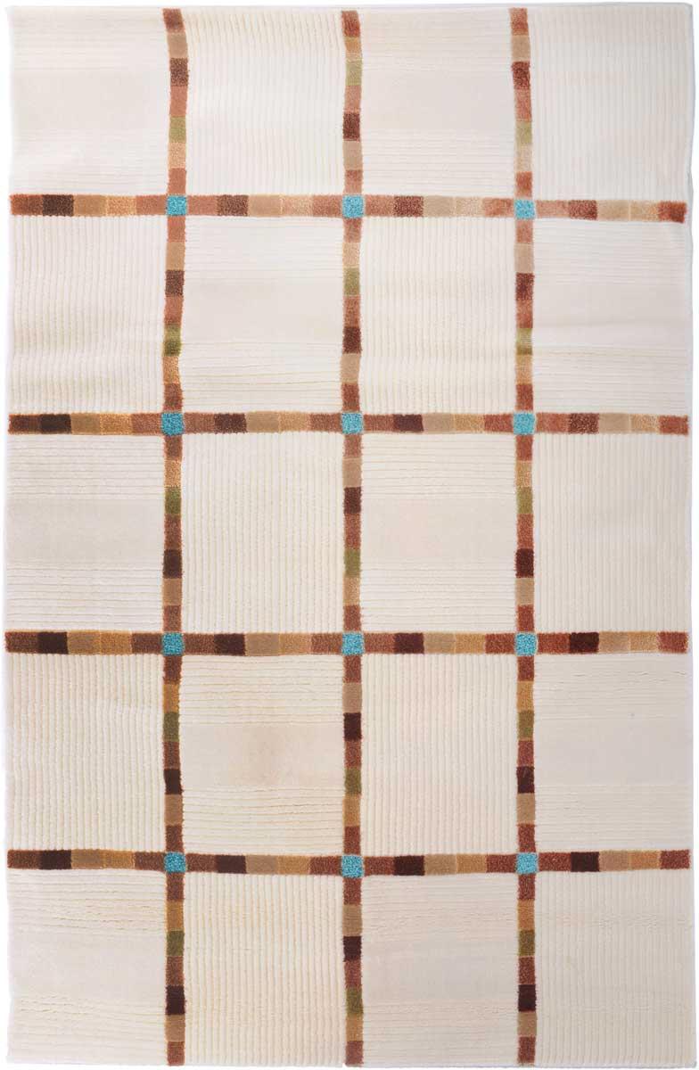 Ковер Mutas Carpet Маре, 120 х 170 см. 705012U210DFКовер Mutas Carpet, изготовленный из высококачественного материала, прекрасно подойдет для любого интерьера. За счет прочного ворса ковер легко чистить. При надлежащем уходе синтетический ковер прослужит долго, не утратив ни яркости узора, ни блеска ворса, ни упругости. Самый простой способ избавить изделие от грязи - пропылесосить его с обеих сторон (лицевой и изнаночной). Влажная уборка с применением шампуней и моющих средств не противопоказана. Хранить рекомендуется в свернутом рулоном виде.