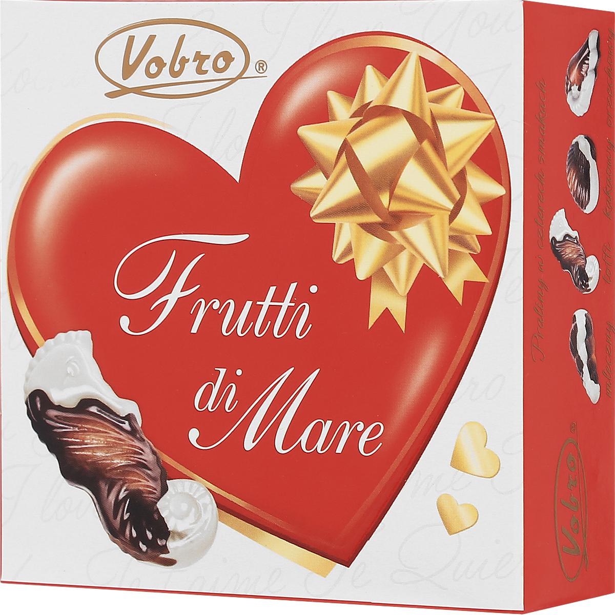 Vobro Frutti di Mare набор шоколадных конфет в виде морских ракушек, 45 г