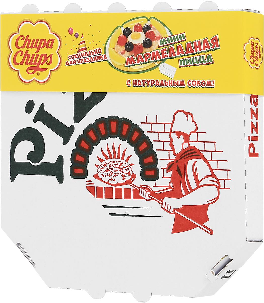 Chupa Chups Мармеладная пицца мини жевательный мармелад, 85 г0120710Необыкновенно аппетитная форма лакомства вызовет искренний интерес на детском празднике, а насыщенный фруктовый вкус поднимет настроение даже в самую угрюмую погоду