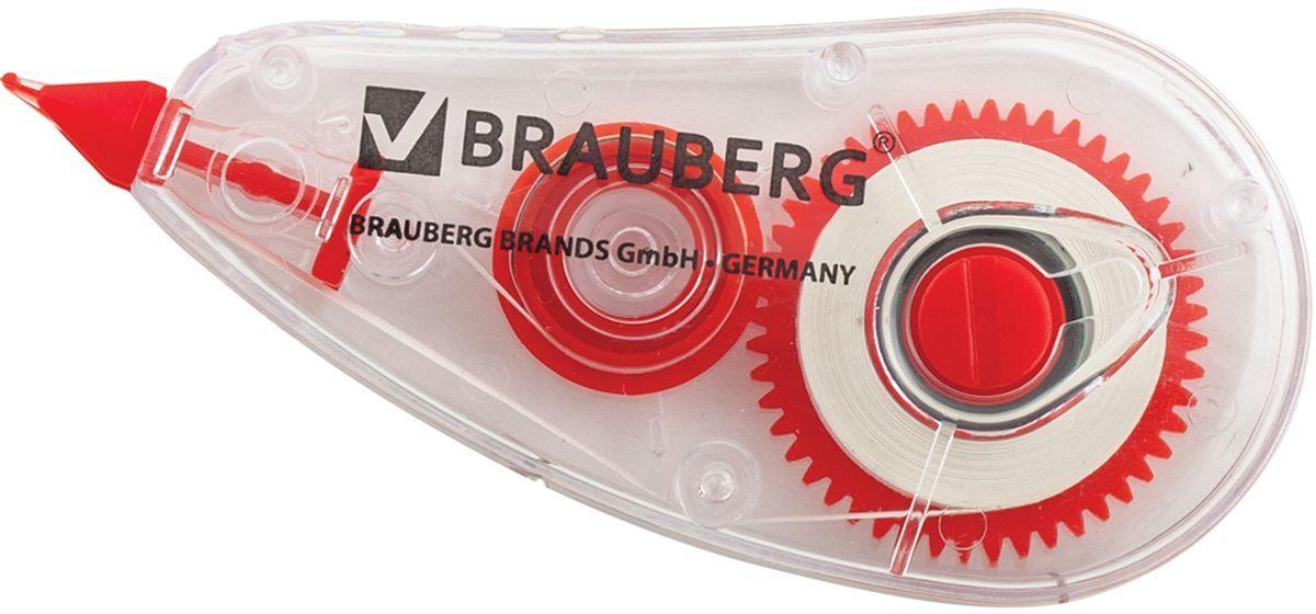 Brauberg Корректирующая лента Red Power 5 мм х 6 мCS-MC400-106715Корректирующая лента Brauberg Red Power обеспечивает моментальное исправление ошибок, отличное письмо по исправленному и не требует времени для высыхания.Лента является отличным средством для корректировки строчного текста. Подходит для всех типов бумаг. Размер 5 мм на 6 м.