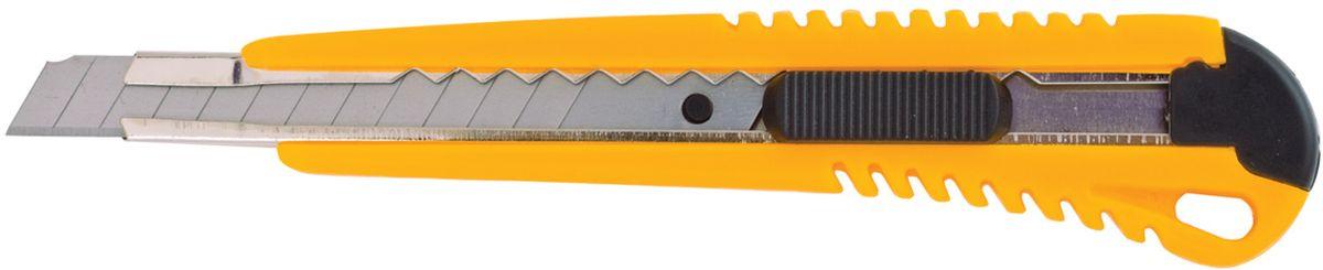 Brauberg Нож канцелярский 9 мм 23091635107Нож канцелярский Brauberg предназначен для резки бумаги. Удобная ручка ножа обеспечивает комфортное использование с максимальной безопасностью. Стальное лезвие двигается по металлическим направляющим.Ширина лезвия 9 мм.